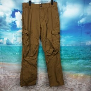 North Face Brown Cargo Pants Mens 32 x 32 Cotton